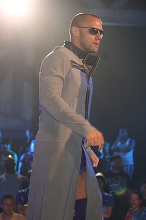 Nigel McGuinness - Haworth as Desmond Wolfe in July 2010