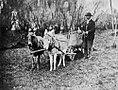 Deutscher Photograph um 1870 - Szene aus einem Münchener Tiergarten (3) (Zeno Fotografie).jpg