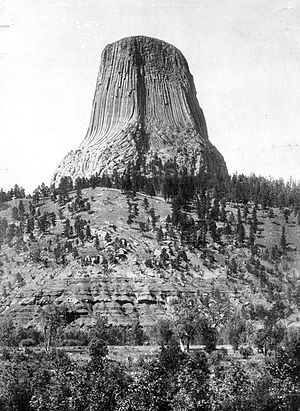 Devils Tower - Devils Tower, 1900