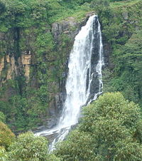 List of waterfalls of Central Province, Sri Lanka