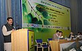 Dharmendra Pradhan addressing at the inauguration of the Oil & Gas Conservation Fortnight 2016, organised by the PCRA, in New Delhi. The Secretary, Ministry of Petroleum and Natural Gas.jpg