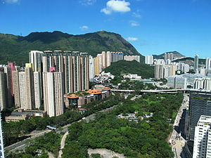 Wong Tai Sin District - Diamond Hill