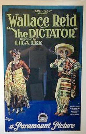 The Dictator (1922 film) - Film poster