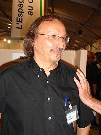 Didier Daeninckx - Didier Daeninckx at the Fête de l'Humanité in 2006