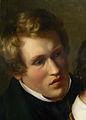 Die Familie Bendemann und ihre Freunde, Ausschnitt Karl Ferdinand Sohn (1830-31).jpg
