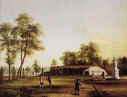 Die Zelte im Tiergarten, Jakob Philipp Hackert [Public domain], via Wikimedia Commons