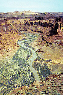 Dirty Devil River river in the United States of America