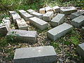 Discarded blocks of hewn Sydney sandstone.jpg