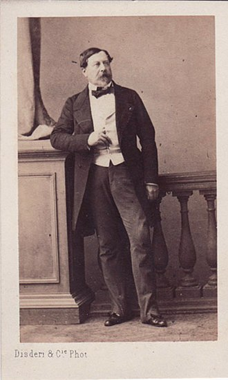 Gustave Olivier Lannes de Montebello - Photographic portrait by Andre Adolphe Eugène Disderi