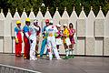 Disneyland Cast Members Awesome Disney Outfits near Small World 2010.jpg