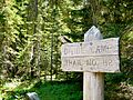 Divide Camp Trail Sign at Mount Adams Wilderness 05.JPG