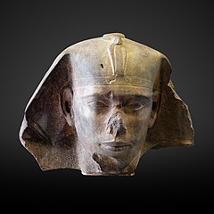 Djedefre sphinx head-E 12626