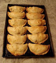 Empanada wikipedia la enciclopedia libre for Cocina tradicional definicion