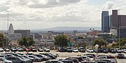 Dodger Stadium view of downtown 2015-10-04