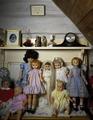 Dolls in a rural home in Madison, North Carolina LCCN2011634110.tif