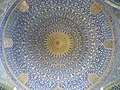 Dome interior of Shah Mosque (Isfahan) 2014 (1).jpg