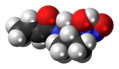 Dopastin molecule spacefill.png
