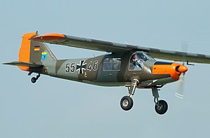 Dornier Do 27 - Do 27 in German Air Force markings
