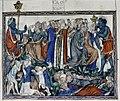 Douce Apocalypse - Bodleian Ms180 - p.052 false prophet causes men to be marked.jpg
