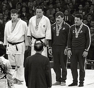 Judo at the 1964 Summer Olympics – Mens +80 kg Judo competition