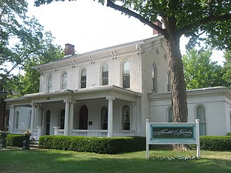 National Register of Historic Places listings in Elkhart County, Indiana - Image: Dr. Havilah Beardsley House