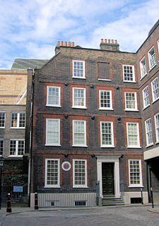 Grade I listed historic house museum in City of London, United Kingdom