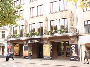 Kaunas State Drama Theatre - Entrance of the Theatre