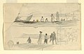 Drawing, Figures Looking Overlooking a Bay, ca. 1895 (CH 18174693).jpg