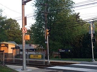 Drexelbrook station SEPTA trolley station