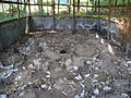 Drying shed with collected faeces (5792887038).jpg