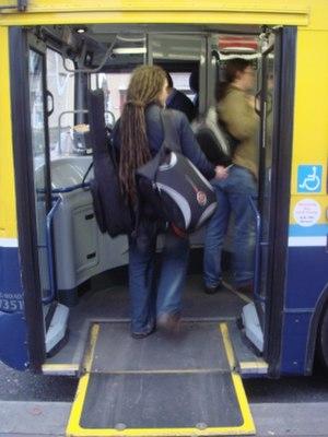 Height adjustable suspension - Kneeling bus in Dublin