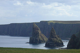 Duncansby Head - Duncansby Stacks, rock pinnacles to the immediate south of Duncansby Head