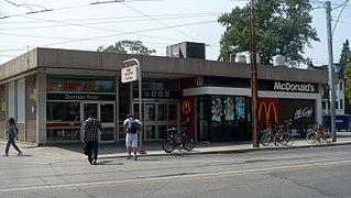Dundas West station Toronto subway station