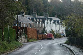 Bankfoot - Image: Dunkeld Road, Bankfoot