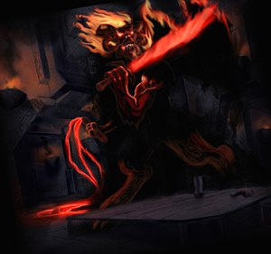 Balrog - The Balrog that was found in Moria