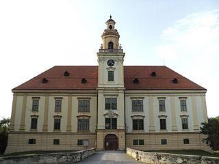 Valpovo Town in Osijek-Baranja, Croatia
