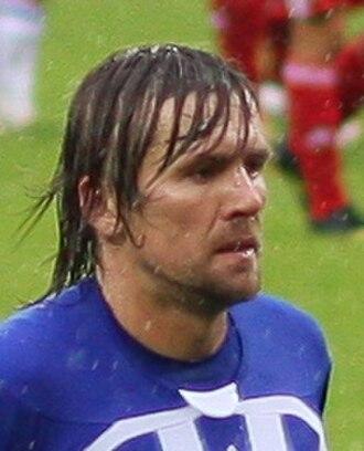 Dzintars Zirnis - Zirnis playing for FK Liepājas Metalurgs