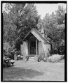EAST FRONT AND NORTH SIDE - John L. Edwards Granary, 55 South Second West, Willard, Box Elder County, UT HABS UTAH,2-WILL,2A-1.tif