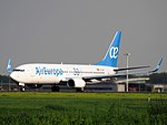 EC-MKL Air Europa Boeing 737-85P(WL), takeoff from Schiphol (EHAM-AMS) runway 36L pic1.JPG