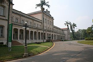 Luiz de Queiroz College of Agriculture, University of São Paulo - ESALQ main building