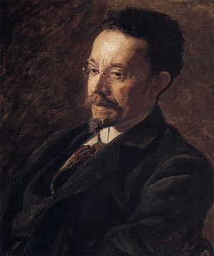 "Henry Ossawa Tanner - Thomas Eakins, a Portrait of Henry O. Tanner, 1900. Oil on canvas, 24⅛"" × 20¼"". The Hyde Collection."