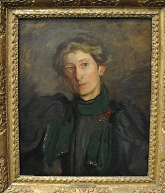 Samuel Murray - Portrait of Jennie Dean Kershaw (circa 1897) by Thomas Eakins. Murray married Kershaw in 1916.