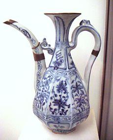 cobalt blue Chinese porcelain
