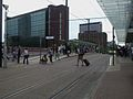 East Croydon tramstop east entrance.JPG