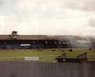 Bristol Rovers F.C. - Aftermath of the fire at Eastville Stadium, August 1980