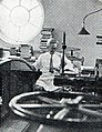 Ed Schaff at Senate cleaning documents, Aneka Amerika 102 (1957), p11.jpg