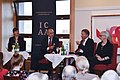 Edgar Gansen, President ICAA International Club Germany, Moderating a Discussion at the Diplomat Clubs Headquarters in Berlin.jpg