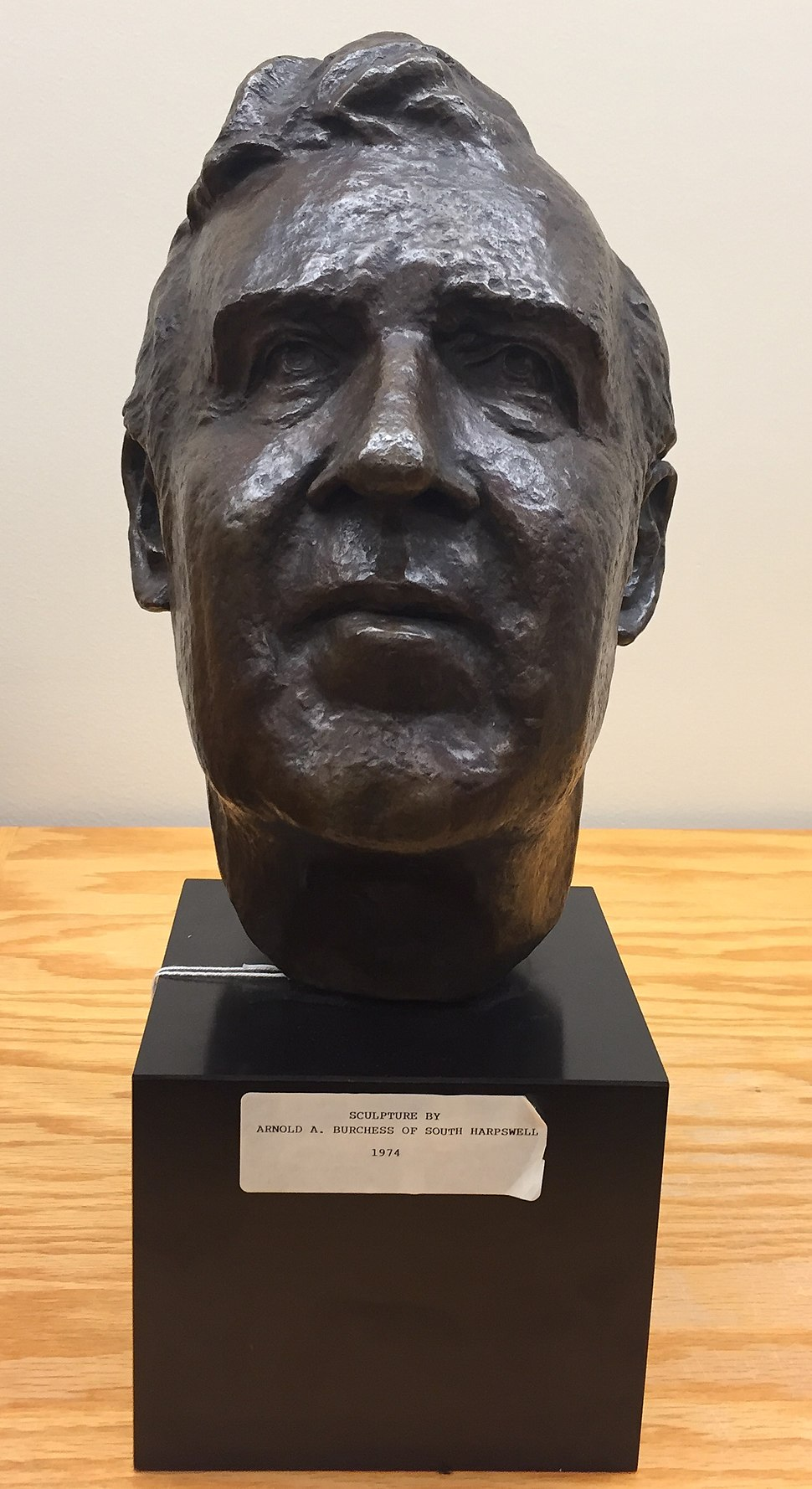 Edmund Muskie Statue