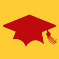 Education - Red Grad Hat.png
