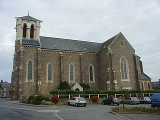 Talensac Commune in Brittany, France